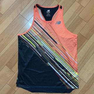 ニューバランス(New Balance)のユニホーム ランシャツ L(ランニング/ジョギング)