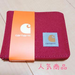 カーハート(carhartt)の【新品未使用】Carhartt カーハート 財布 ウォレット レッド 赤(折り財布)