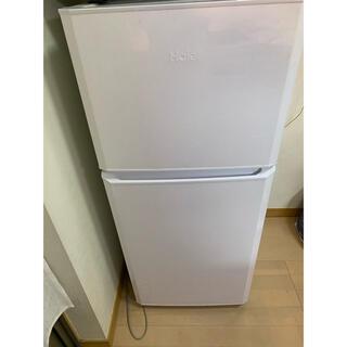 ハイアール(Haier)の【6月20日までの販売】Haier  冷蔵庫 2017年製 121L(冷蔵庫)