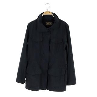 ロロピアーナ(LORO PIANA)のロロピアーナ M-65 フィールドジャケット スタンドカラー 42 黒(その他)