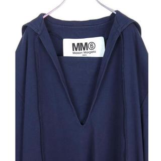 エムエムシックス(MM6)の専用 MM6 Maison Margiela 19SS ジャージードレス(ひざ丈ワンピース)