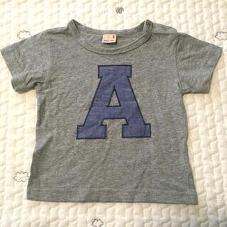 プティマイン(petit main)のプティマイン イニシャルTシャツ 80(Tシャツ)