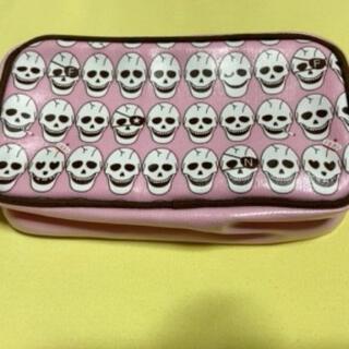 ◎タグ付き◎NIGEL FEVER ピンクのバレンタインポーチ(メイクボックス)