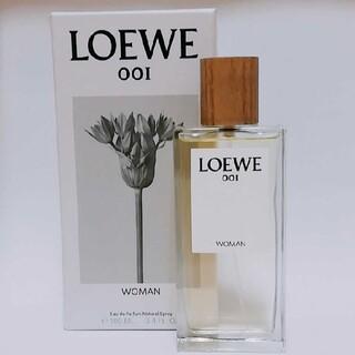 LOEWE - ほぼ新品 LOEWE オードパルファン ロエベ001ウーマン 100ml 香水