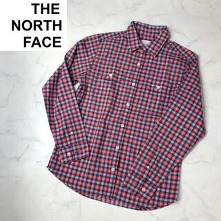 ザノースフェイス(THE NORTH FACE)のザノースフェイス(S)レディースシャツ胸ポケットシャツ(シャツ/ブラウス(長袖/七分))