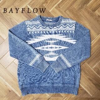 ベイフロー(BAYFLOW)のBAYFLOW ベイフロー   ネイティブニットプルオーバー ロンハーマン(ニット/セーター)