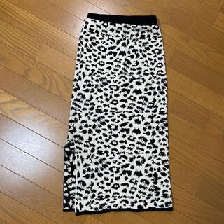 エイミーイストワール(eimy istoire)のデザートローズ スカート(ひざ丈スカート)