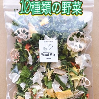 新鮮野菜【乾燥野菜10種類入り♪】農薬不使用(野菜)