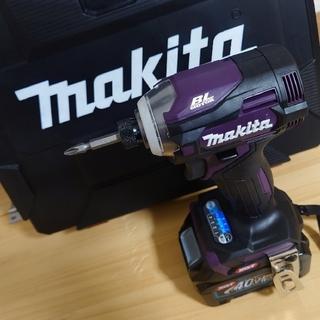 マキタ(Makita)のマキタ 40V 新品 インパクトドライバー TD001GRDX AP(工具/メンテナンス)