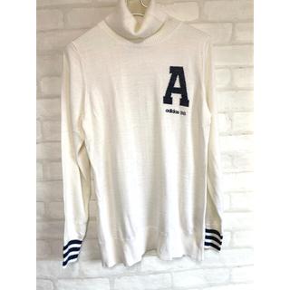 アディダス(adidas)のアディダスゴルフ adidas golf ゴルフウェア 長袖 セーター Lサイズ(ウエア)