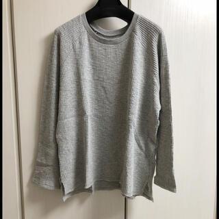 アングリッド(Ungrid)の新品 ワッフルサイドスリットロングスリーブTee(Tシャツ(長袖/七分))