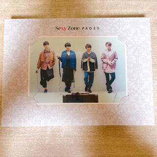 Sexy Zone - PAGES 初回限定盤)A CD+DVD