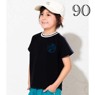 ブリーズ(BREEZE)のブリーズ 別注袖ラインテープTシャツ 90(Tシャツ/カットソー)