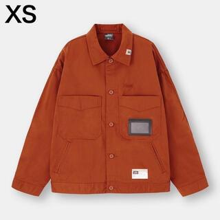 ジーユー(GU)のGU ミハラヤスヒロ MIHARA シェフジャケット XS オレンジ(その他)