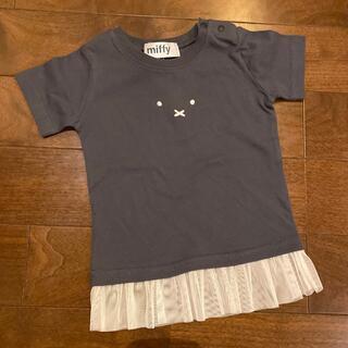 しまむら - ミッフィー Tシャツ 80
