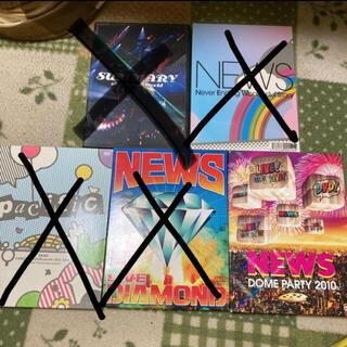 ニュース(NEWS)のNEWS LIVELIVELIVE DVD(アイドル)
