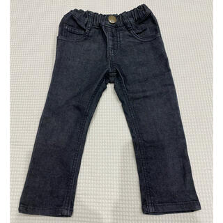 ムージョンジョン(mou jon jon)の可愛い♡moujonjon デニムパンツ サイズ90(パンツ/スパッツ)