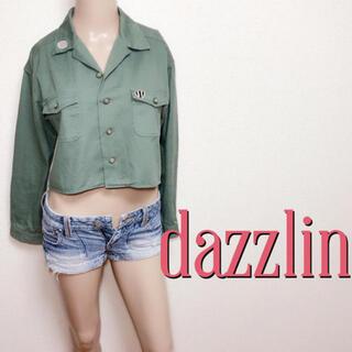 ダズリン(dazzlin)の必需品♪ダズリン お出かけカジュアルジャケット♡マウジー トミー(Gジャン/デニムジャケット)