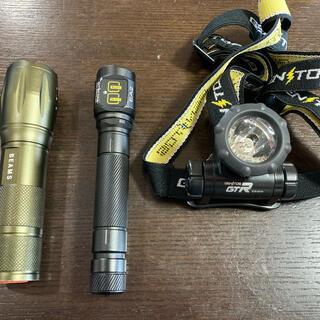 ジェントス(GENTOS)のNitecore EA2LEDライトジェントスGTR-931H beamsセット(ライト/ランタン)