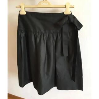 クロエ(Chloe)の値下げ中★クロエ サイドリボン スカート★コレクションライン(ひざ丈スカート)