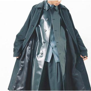 COMOLI - auralee cashmere wool mosser big coat