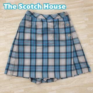 ザスコッチハウス(THE SCOTCH HOUSE)のThe Scotch House スコッチハウス チェックキュロットスカート(スカート)