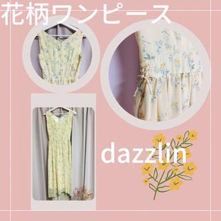 ダズリン(dazzlin)のdazzlin ロングワンピース 花柄♩(ロングワンピース/マキシワンピース)