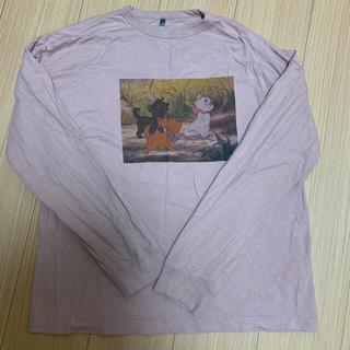 ディズニー(Disney)の長袖 ロングTシャツ おしゃれキャット マリーちゃん 猫 おしゃれキャットマリー(Tシャツ(長袖/七分))