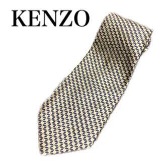 ケンゾー(KENZO)のKENZO ケンゾー ネクタイ チェック柄  下北 古着(ネクタイ)