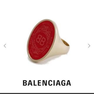 バレンシアガ(Balenciaga)のBalenciaga オーバルシュヴァリエールリング(リング(指輪))