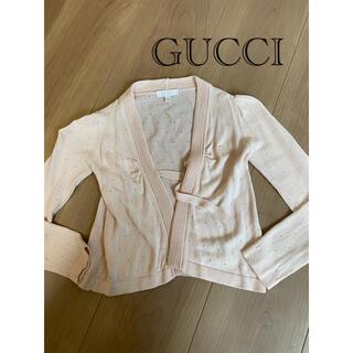 グッチ(Gucci)の最終値下 グッチ GUCCI カーディガン 90 百貨店 フォーマル(カーディガン)