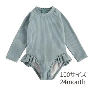 キャラメルベビー&チャイルド(Caramel baby&child )のyori&otis風 ラッシュガード水着 100サイズ(水着)