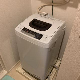 日立 - 大特価!!日立全自動電気洗濯機 NW-5WR型 2016年製 取扱説明書付