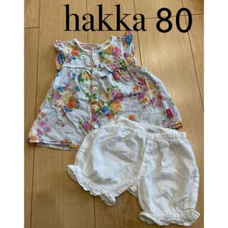 ハッカキッズ(hakka kids)のハッカ セットアップ 80(シャツ/カットソー)
