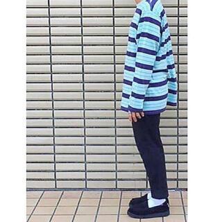 アンユーズド 2018aw  コットン ボーダー ロング スリーブ Tシャツ 3(Tシャツ/カットソー(七分/長袖))