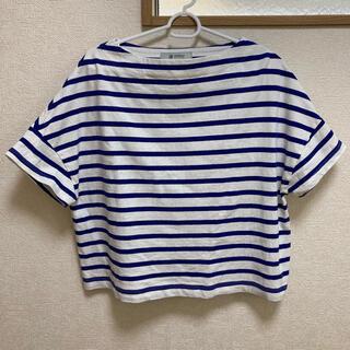 ナノユニバース(nano・universe)のボーダー Tシャツ トップス ナノユニバース(Tシャツ(半袖/袖なし))