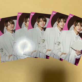 ジャニーズ(Johnny's)のMyojo 7月号 平野紫耀 ジェシー 切り抜き 厚紙(アイドルグッズ)
