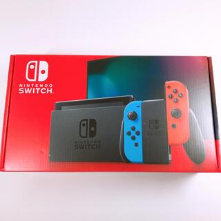 ニンテンドースイッチ(Nintendo Switch)の任天堂 Switch 未開封 未使用(家庭用ゲーム機本体)