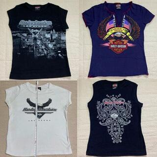 ハーレーダビッドソン(Harley Davidson)のHarley-Davidson Tシャツ4枚セット ラスベガス ハリウッド S(Tシャツ(半袖/袖なし))
