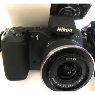 Nikon - Nikon1V2 zoom lens kit