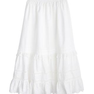 アクシーズファム(axes femme)のコットンフレアロングスカート(ロングスカート)