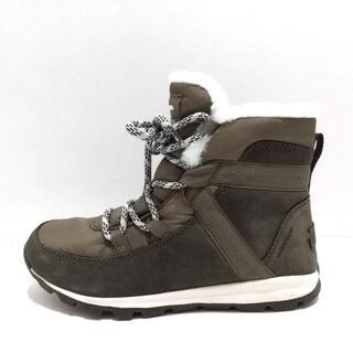 ソレル(SOREL)のソレル レディース - ライトカーキ×カーキ(ブーツ)