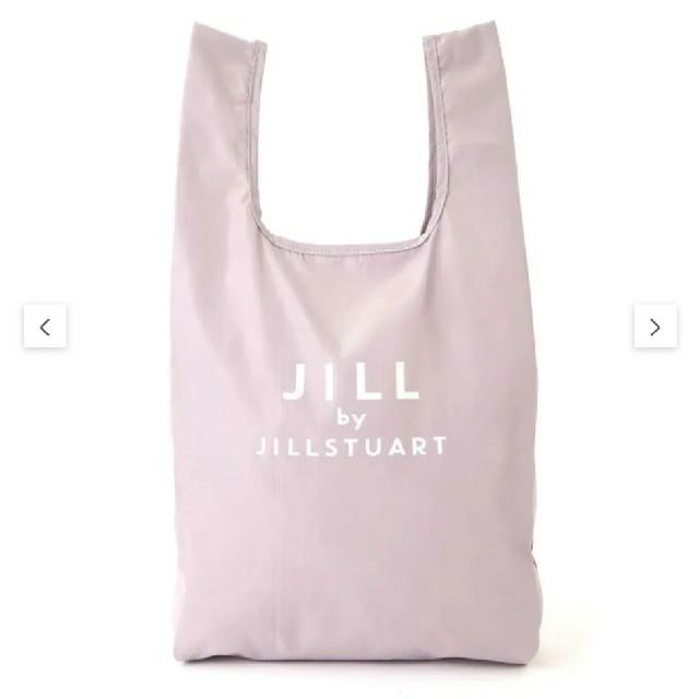 JILL by JILLSTUART(ジルバイジルスチュアート)のJILLbyJILLSTUART ポケッタブルマルシェエコバッグ グレー レディースのバッグ(エコバッグ)の商品写真