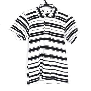 コムデギャルソン(COMME des GARCONS)のコムデギャルソン レディース - 白×黒(ポロシャツ)