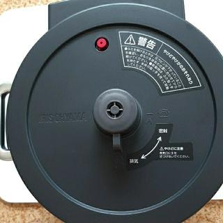 アイリスオーヤマ - アイリスオーヤマ 電気圧力鍋2.2L ブラック