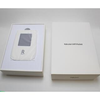 ラクテン(Rakuten)の【新品未使用】Rakuten WiFi Pocket ホワイト(その他)