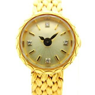 アガット(agete)のアガット美品  - レディース ゴールド(腕時計)