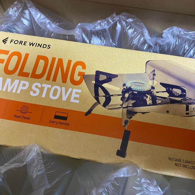 PRIMUS(プリムス)のフォールディング・キャンプ・ストーブ シルバー FW-FS01-SL スポーツ/アウトドアのアウトドア(ストーブ/コンロ)の商品写真