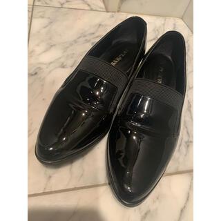 バークレー(BARCLAY)のBARCLAY エナメルシューズ ローファー 黒(ローファー/革靴)