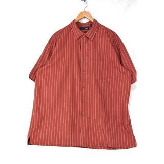 アロー(ARROW)の@美品 アロー ARROW ストライプ 半袖オープンシャツst374 XL(シャツ)